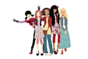 Les Kinra Girls, les poupées du monde de Corolle