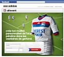 Adidas et l'OL en campagne sur Facebook