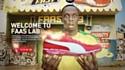 Puma ouvre un PopUp Store avec Usain Bolt en mégastar