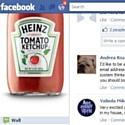 Heinz lance un nouveau produit sur Facebook