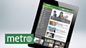 Metro lance son application iPad