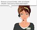 Emilie, une conseillère virtuelle très demandée