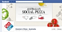 """Australie : Domino's Pizza crée la """"pizza sociale"""""""