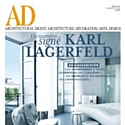 "Karl Lagerfeld signe un numéro du magazine ""Architectural Digest"""