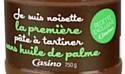 """Casino lance """"Je suis noisette"""" une pâte à tartiner sans huile de palme"""