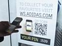 Allemagne : Adidas teste une vitrine 100% interactive
