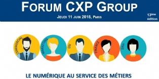 """Forum CXP """"Le numérique au service des métiers"""""""