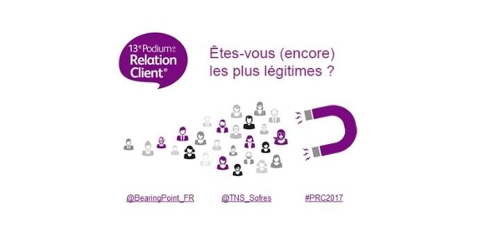 Podium de la relation client 2017