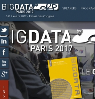 Big Data Paris 2017