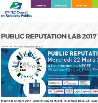 Public Reputation Lab 2017
