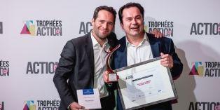 [Trophées Action Co] Jean-Pierre Laherre, (Villeroy & Boch) décroche l'argent