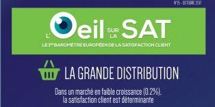 La satisfaction client dans la grande distribution baisse pour la première fois depuis 3 ans