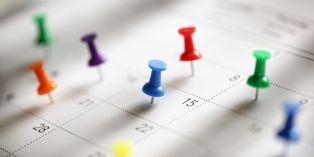 L'agenda de l'acheteur en mars