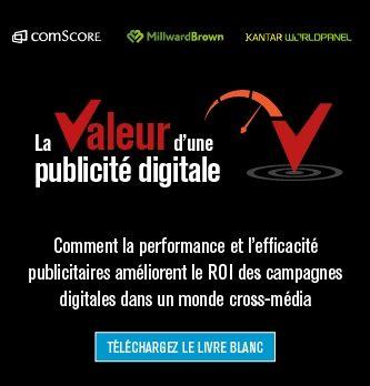 La valeur d'une publicité digitale