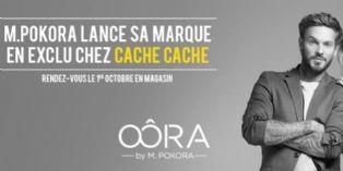 M Pokora crée Oôra avec Cache Cache