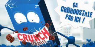 Nestlé Crunch Céréales fête ses 3 ans sur Facebook