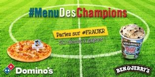 Domino's Pizza et Ben & Jerry's parient sur le foot sur Twitter
