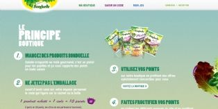 Brand Advocate imagine une boutique de promotions pour Bonduelle