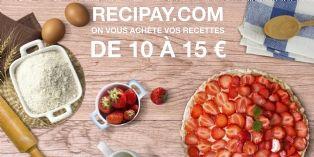 Je cuisine, je poste avec Recipay ... j'empoche avec Paypal