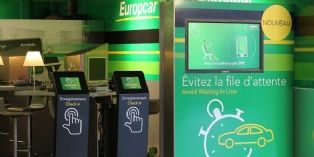 Europcar �quipe ses agences de bornes interactives