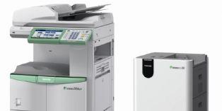 Toshiba propose la 1re imprimante multifonction � encre effa�able