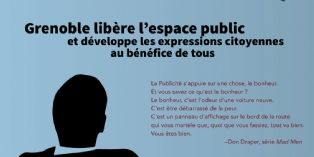 Grenoble dit non à l'affichage publicitaire