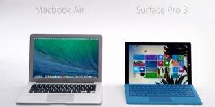 Microsoft lance la première publicité comparative high-tech en France