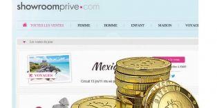 Showroompriv� d�ploie le paiement en bitcoins