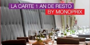 Monoprix offre le restaurant à ses clients