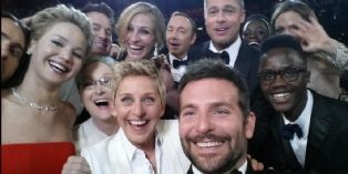 Oscars : un selfie en or signé Samsung