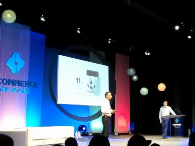 Philippe Plichon (à gauche), Nick Leeder, Google