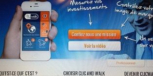 Clic and Walk : un outil marketing français primé au niveau mondial