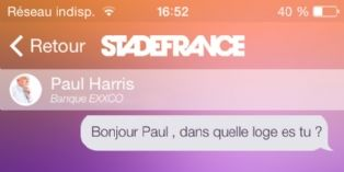 Le Stade de France lance une application de networking