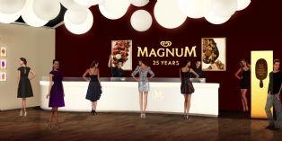 Anniversaire glamour pour Magnum