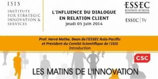 La relation client fait d�bat � l'Essec Business School
