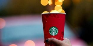 Starbucks f�te ses 10 ans en France
