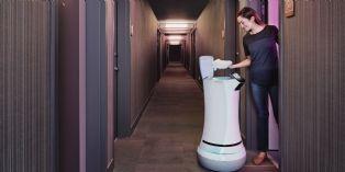 [Id�e d'ailleurs] Dans cet h�tel californien, le majordome est un robot