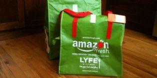 """Avec AmazonFresh, acheter des produits frais en ligne et se les faire livrer par """"La Poste"""""""