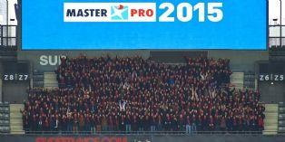 Quand Master Pro f�d�re son r�seau au Stade de France