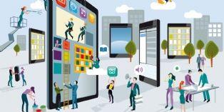 En 2014, aux Etats-Unis, le 'digital' a repr�sent� 28% des investissements publicitaires