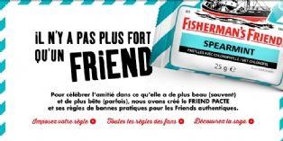 Fisherman's Friend célèbre l'amitié avec humour sur Facebook