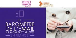 Plus de 40% des emails en France ouverts depuis un smartphone ou une tablette