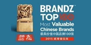 Brandz : Le top 100 des marques chinoises les plus puissantes
