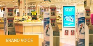 Des écrans DOOH pensés pour la grande consommation