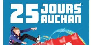Auchan mise sur le cross-canal et la géolocalisation pour sa campagne des 25 jours