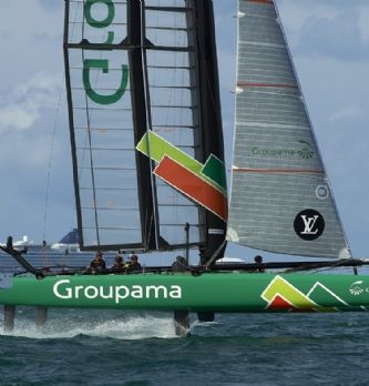"Facebook "" like "" Groupama Team France"