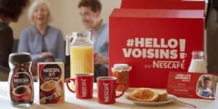 Nescaf� lance l'op�ration #HelloVoisins