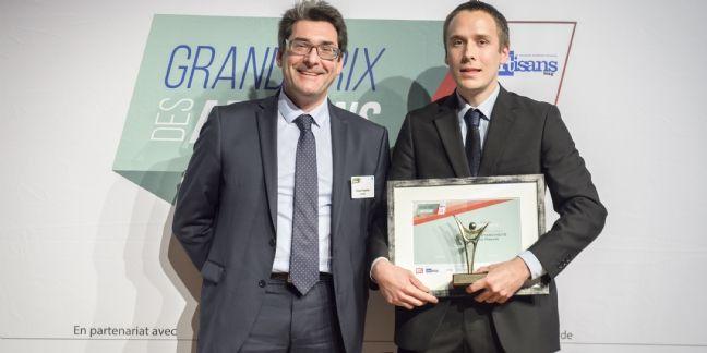 John Mossot remporte le prix de la Jeune Entreprise Artisanale