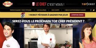 Président et Top Chef font cuisiner les internautes