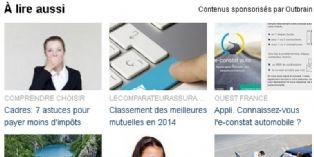 Le Groupe Le Monde d�ploie la technologie Outbrain sur l'ensemble de ses sites